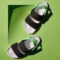 sandálias de plataforma amarela venda por atacado-PUMA Sandals Shoes Leadcat YLM Lite Sandálias para Mulheres Dos Homens Triplo Preto Branco Verde Amarelo Designer de Moda Plataforma Sandálias Chinelos de Praia Sapatos 36-44