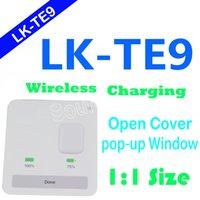 ingrosso gli aggiornamenti dell'aria-LK-TE9 TWS Bluetooth 5.0 Auricolari Air 1: 1 Pods Aggiornamento formato originale TE9 Ture Stereo Cuffie Auricolari Wireless Charging Box Wake Up Siri