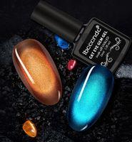 Wholesale gel gems resale online - 10ml D Cat Eye Gem Nail Polish Magnetic Gel Soak Off Nail Gel Polish Semi Vernis Permanant Gel Varnish Lacuqer Gellak Base Top