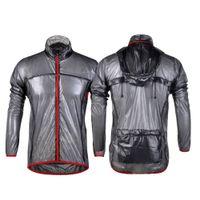 rüzgar forması toptan satış-Açık Koşu Ceketler Su Kovucu Koşu Bisiklet Bisiklet Rüzgarlık MTB Bisiklet Uzun Formalar Rüzgar Yağmurluk Chaqueta