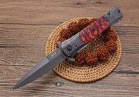 hayatta kalma kılıcını kamp toptan satış-taktik katlanır EDC av bıçağı kamp sağkalım taktik askeri bıçak savunmada açık DA145C Kılıç balığı pratik Taktik bıçak