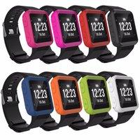 silikon tasche armband großhandel-Strapazierfähiges Silikon-Handgelenkschutzband für Garmin Forerunner 35 Uhrenersatzteile