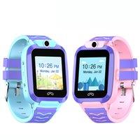видеоролики оптовых-SmartWatch GPS-часы Q51 4G Дети Смарт Часы IP67 водонепроницаемые часы видео Телефог SOS Call SmartWatch Kid Chilren в рк DF39Z