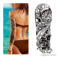 Wholesale makeup for legs resale online - 3D Beauty Makeup Waterproof Temporary Stickers For Men Women On His Arm Temporary Tattoos Sexy Product Bikini stickers for beach in summer