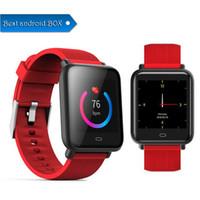 beste wasserdichte fitness-uhren großhandel-Best selling Q9 Blutdruck Pulsmesser Smart Watch IP67 Wasserdicht Sport Fitness Trakcer Uhr Männer Frauen Smartwatch