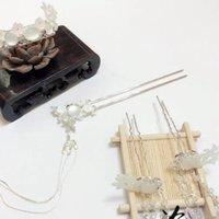 ingrosso porcellana dei capelli-Forcina piccola fresca e carina in cina, set di incastonati set tornante nappa hanfu bordo antico