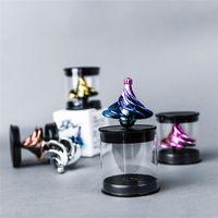 tornillos de juguete para niños al por mayor-Creativa neumático de la persona agitada Spinner mini tornillo de rosca del viento que sopla rotación Auto Mano Spinner WinSpin alivio de tensión juguetes para los niños