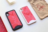 personnaliser le cas de téléphone flip achat en gros de-Cas de téléphone de luxe pour Iphone XS cas de téléphone pour Iphone Marque Designer cas de téléphone pour iPhone X 678 Plus