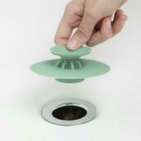 ingrosso filtro da bagno-Bagno di scarico dei capelli Catcher Bagno tappo Plug lavello Filtro doccia Copre