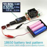 щелочная литиевая батарея оптовых-Тестер аккумулятора Измеритель мощности Вольтметр Амперметр Емкость 18650 Литий-полимерный Nimh Углеродный цинковый никель-кадмиевый щелочной ртутный