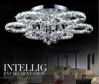 accesorios de iluminación de lujo al por mayor-Llfa1415 arte decorativo de lujo estilo moderno restaurante en casa k9 lustre araña de cristal accesorio de iluminación lámparas de luz de techo