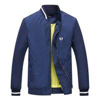 erkek ceketleri toptan satış-2019 erkek marka ceketler Yeni kentsel eğlence trendi Golf erkek sonbahar ve kış ceketler golf spor casual erkek jersey sıcak ceket