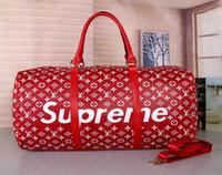 marka l çanta toptan satış-En Yeni stil asla en kaliteli erkek, L-lüks tasarımcıları bagaj çantası erkekler kılıf Keepall çanta yün çanta moda markaları seyahat