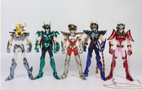 Wholesale gt toys for sale - Group buy GREAT TOYS Phoniex ikki pegasus Draco shiryu hyoga Andromeda shun v3 final EX bronze GT action figure metal armor LY191210