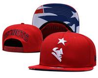 equipes de chapéus de snapback venda por atacado-Atacado 2019 Top Quality Patriots Snapback Chapéus Gorras Bordado Equipe Logo Fan's Hip Hop Barato Esportes Baseball Ajustável Caps Bones