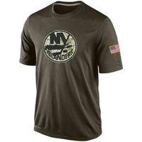 nhl jersey barato al por mayor-Moda NHL Saludo al servicio Colección Camisetas Camisetas de hockey baratas Camisetas Logos Big Tall Banner Buenas camisas de camuflaje de Good Quanlity