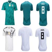 22a09165e Germany soccer jerseys player version MULLER OZIL DRAXLER 2018 WORLD CUP  KROOS HUMMELS WERNER SANE football shirt camiseta alemania KIMMICH