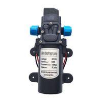 Wholesale 12v dc water pumps resale online - DC V W L min Car Washer High Pressure Electric Water Pump Diaphragm Pump Water Sprayer for Home Garden Agricultural