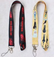 Wholesale gym key holder for sale - Group buy Ransitute R427 ONE PUNCH MAN keys ID card gym mobile phone USB straps badge holder DIY phone hang rope cord
