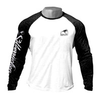 Wholesale exercise shirts for men for sale - Group buy Thin Mens Printed Long Sleeve T Shirt Fashion Crewneck Gym Clothes Exercise Tees for Spring Autumn Fitness Training Tops