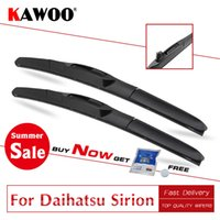 Wholesale rubber blade for wiper for sale - Group buy KAWOO Clean The Windshield Car Wiper Blade For Daihatsu Sirion Model Year From To Soft Natural Rubber Fit U Hook Arm