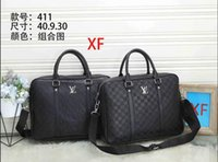 Wholesale laptops sell for sale - Group buy Briefcases Men Top Sell Fashion Simple Business Men Briefcase Bag Leather Laptop Bag Casual Man Shoulder Bags