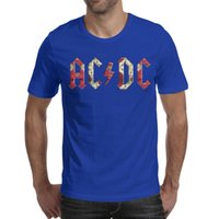 8a667ce8093f Popular AC DC rock band 2019 Summer personalised T Shirt For Men vintage  fashion shirts