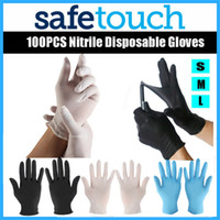 100 PCS Disposable Gloves Latex Dishwashing Kitchen Work Rubber Garden Gloves Universal For Left and Right Hand