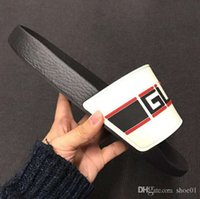 Wholesale flat slippers for men for sale - Group buy Man Woman Slippers Sandals Slides High Quality Slippers Sandals Huaraches Flip Flops Loafers Scuffs For Unisex Eu by shoe02