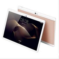 pc atom touch al por mayor-DHL Alta calidad Octa Core 10 pulgadas MTK6582 IPS pantalla táctil capacitiva dual sim 3G tablet teléfono pc android 6.0 4GB 64GB