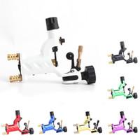 döner makinalı motorlar toptan satış-Rotary Dövme Makinesi Shader Liner 7 Renkler Karışık Dövme Motor Gun Setleri Tedarik Dövme Sanatçılar Için RRA1200