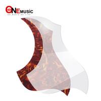 10pcs Lot Eagle Style Pickguard Acoustic Guitar Pickguard Sticker Transparent and Turtle Shell Color