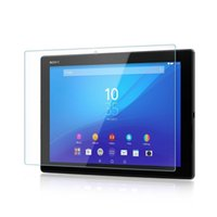 sony xperia z3 компактное закаленное стекло оптовых-Стеклянный протектор для Sony Xperia Z3 Tablet Compact Z2 Z4 Tablet 9h твердость премиум закаленная пленка с розничной упаковкой