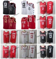 Wholesale basketball shirt james for sale - Group buy 2019 Earned Houston Chris Paul James Harden Rockets Edition Basketball Jerseys Cheap City James Harden Edition Stitched Shirts S XXL