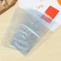 id card plastic pouch 도매-도매 -20 개 / 대 뜨거운 PVC 플라스틱 명확한 포켓 지갑 ID 카드 패스 배지 홀더 가방 티켓 초대장 파우치 액세서리 9.5 센치 메터 x 7.8 센치 메터