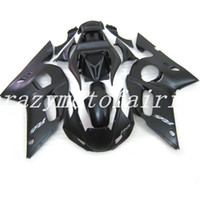 Wholesale 99 r6 plastics for sale - Group buy 3Gifts New ABS Mold motorcycle plastic Fairings Kits Fit For YAMAHA YZF R6 Fairing bodywork set Matte Black