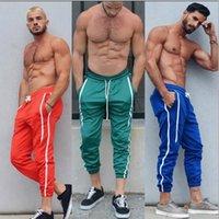 ingrosso nuovi colori a corsa libera-Mens Jogger pantaloni nuovi sport pantaloni Mens di forma fisica di pallacanestro correnti di sport pantaloni con 6 colori liberano