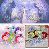 Wholesale wedding car ribbons for sale - Group buy Gift Box Candy Box Hollow Carriage Designed Wedding Supplies Party Favour Home Garden Storage Holder Birthday Ribbon Cars