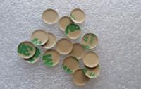 Wholesale gm smart car resale online - 50pcs D mm aluminum Car logo Key Emblem button M Sticker for BMW Folding Keys