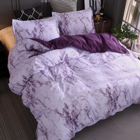 Modern Marble Pattern Bedding Sets Duvet Cover Set 2 3pcs Bed Set Twin Double Queen Quilt Cover Bed linen Duvet Cover Bedspread Set