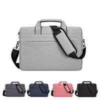 Wholesale laptop bags for sale - Group buy Polyester Laptop Messenger Shoulder Bag Covers Case For Inch Macbook Computers Notebook PC Crossbody Bags Handbag Carry Briefcase