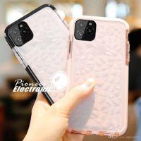 iphone silikon protektor großhandel-Für neue iPhone 11 Pro XR XS MAX X Fall-Qualitäts-weiche Silikon-Stoß- Abdeckungs-Schutz-Kristallbling Glitter Gummi freier TPU Fall