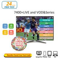 iptv android quad core achat en gros de-Abonnement IPTV Android APK Smart TV Tableau de revendeurs Mag25X IOS M3U USA Grande-Bretagne Canada France Arabe 30+ pays Chaîne IPTV Pour TV BOX