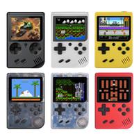 video oyunları player konsolu toptan satış-Retro Taşınabilir Mini Video Oyunları El Oyun Konsolları Oyuncu 3.0 Inç LCD Ekran Cep Oyun Konsolu 168 Oyunlarda Bulit
