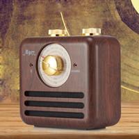 mejor receptor de radio al por mayor-El mejor locutor de radio portátil nostálgico recargable retro de radio de Fm para la oficina / el hogar / el receptor al aire libre