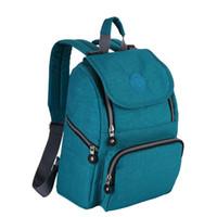 neue mamma taschen großhandel-Mama wickeltasche NEUE Wasserdichte nylon mutter rucksack mode Schwangere frau Outdoor Reisetaschen Organizer Tote 6 farben C6293