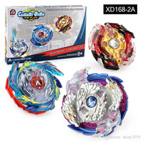 Wholesale beyblade master set resale online - Beyblade D suit Set XD168 Burst With Launcher Fusion Metal Plastic Master Fight Spinning Bey Blade Grip Top Plate Box Kids Gift