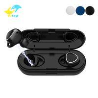 xiaomi bluetooth box großhandel-Xi7 TWS Drahtlose Kopfhörer Bluetooth 5.0 Sound 3D Stereo Ohrhörer Mini Sport Headset mit Ladebox für Samsung Xiaomi