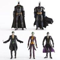 modelos de batman al por mayor-Original Dc Batman The Joker Pvc figura de acción Colección Modelo Juguete 7 pulgadas 18 cm 15 estilos C19041501