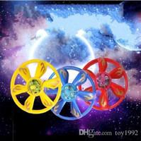color ir al por mayor-Juguete de UFO de inducción IR creativo LED helicóptero flotante Fly Toys Multi Color regalos para niños 20jw C R 888